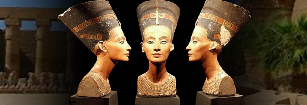 nefertiti Нефертити, жена фараона Египта