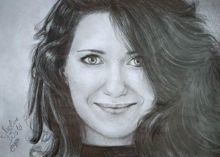 <p>Екатерина Климова (портрет карандашом)</p>