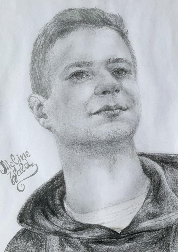 <p>Портрет карандашом А4</p>