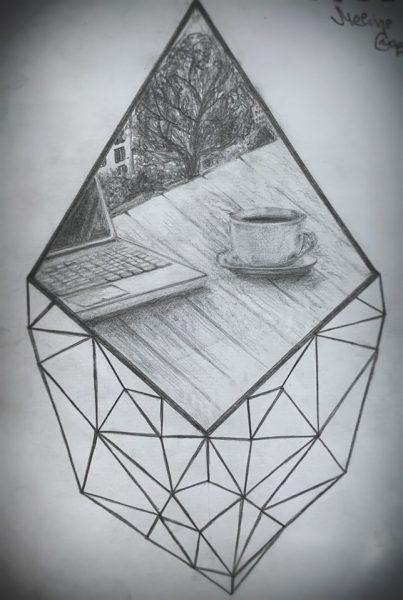 <p>Рисунок карандашом</p>