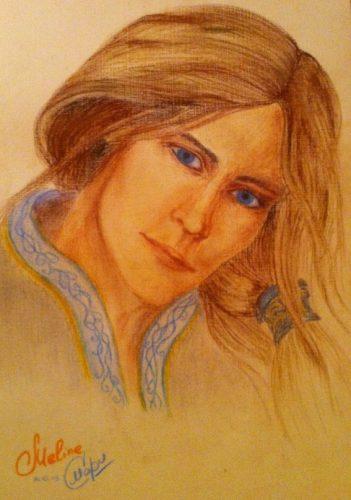 <p>Портрет пастелью</p>
