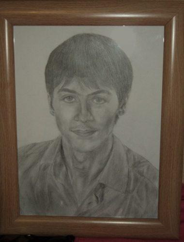 <p>Портрет парня - карандашом</p>