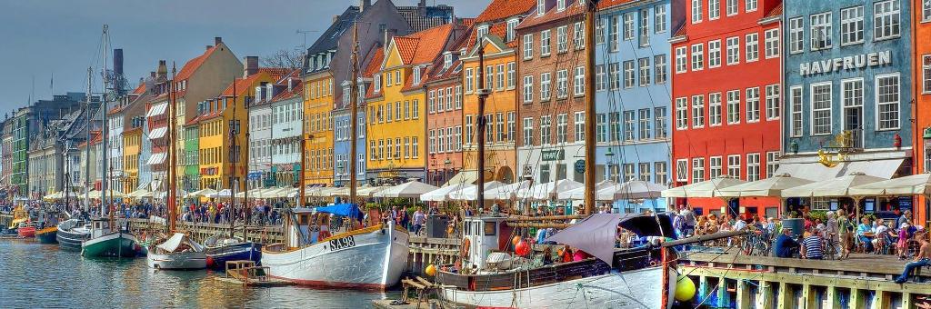 Hugge, Дания