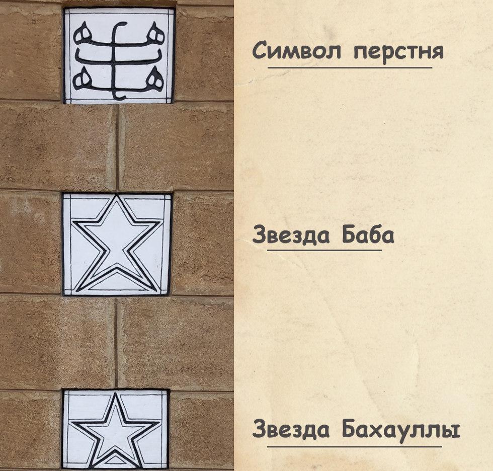Символы Бахайской религии
